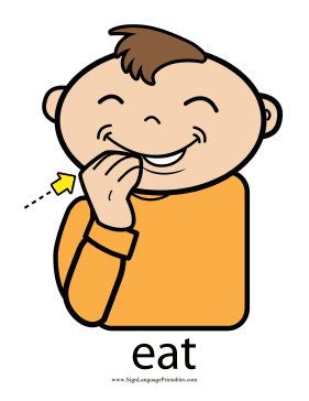 Sifting the fact from fiction about baby sign language |Eat Sign For Baby Pick