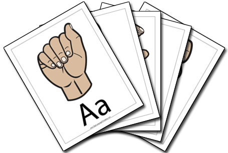 Sign Language Collection sign language printable